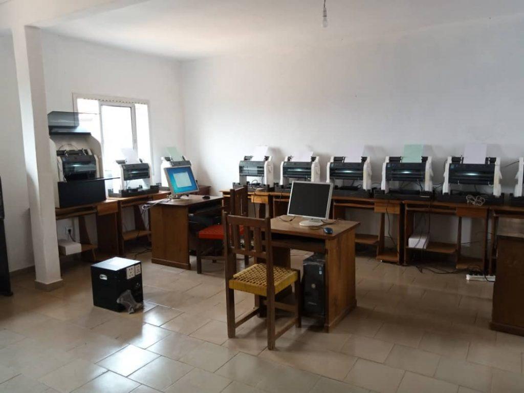image des embosseuses centre multimédia inclusif