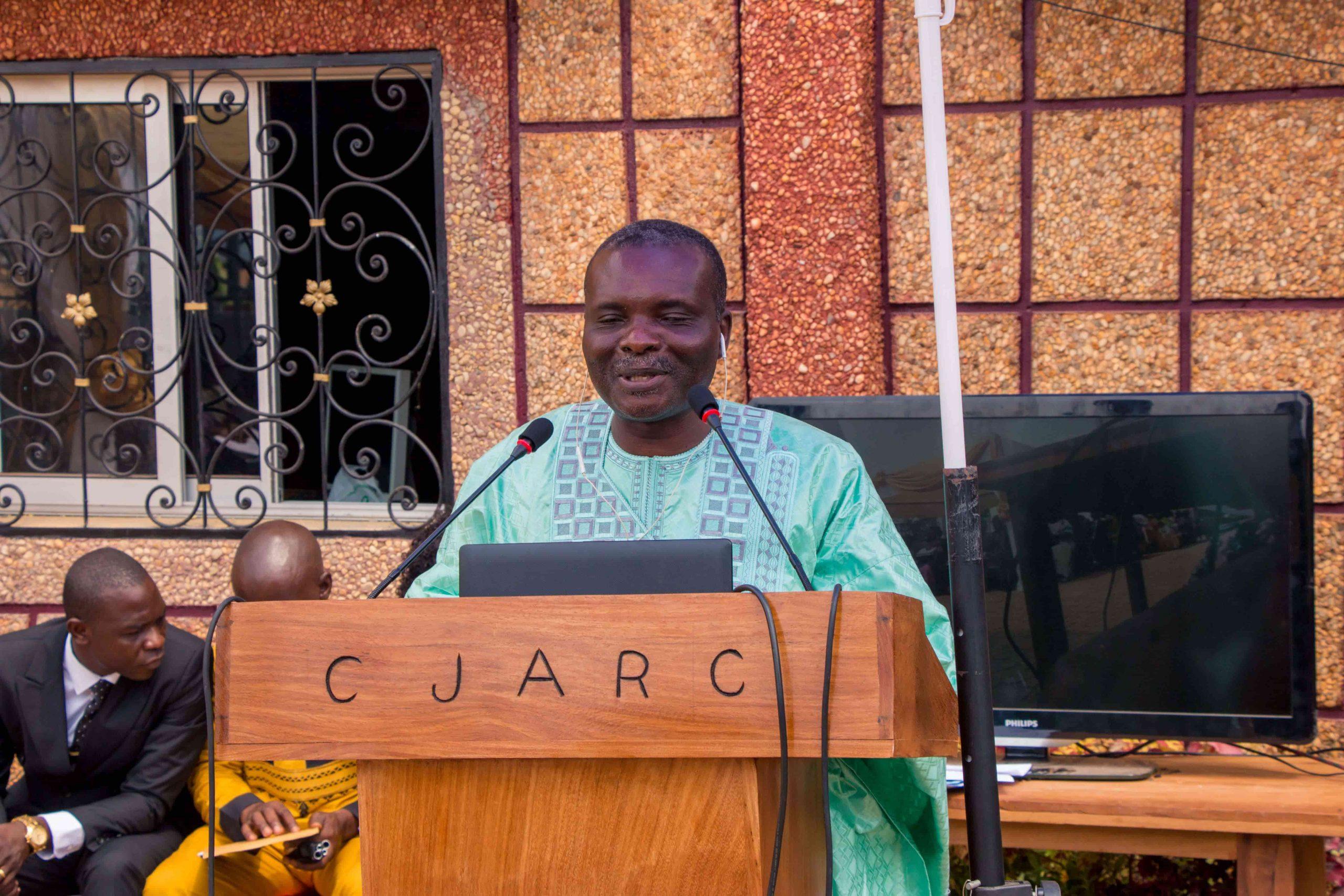 Inauguration du CMI (discours du DG)